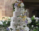six tier wedding cake by Special Ice